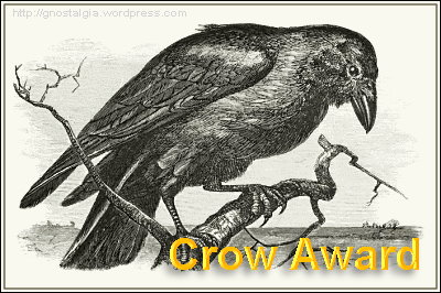 Check back to see who wins the CROW AWARD for 2010