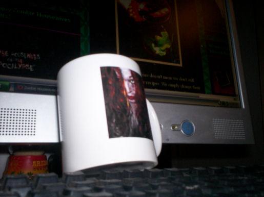 zombie chicks mug