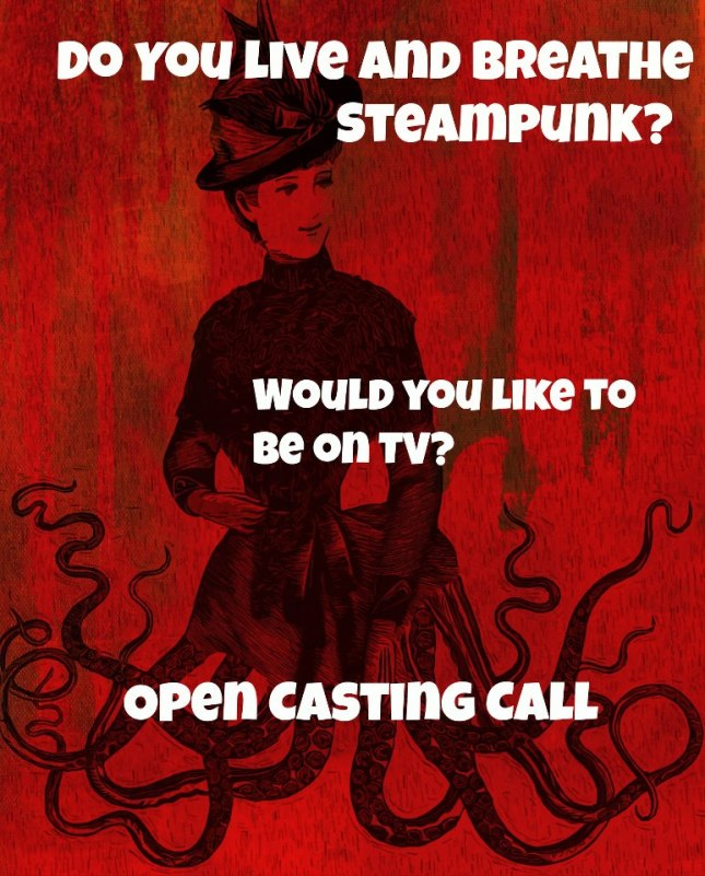 steampunk casting call