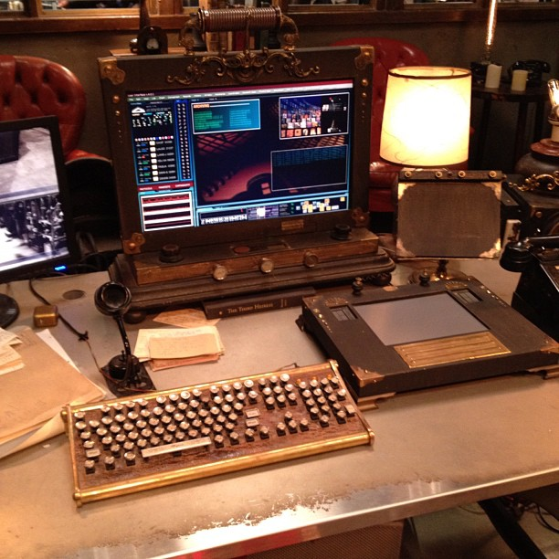 warehouse13 desk