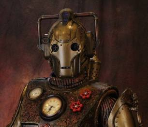 steampunk cyberman