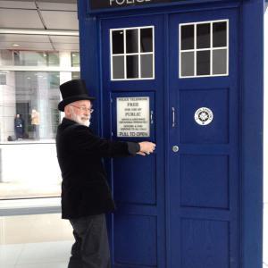 Terry & the TARDIS!