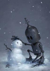lonelyrobot-snowman